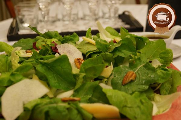 Salada Verde com Pêra