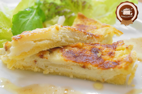 Torta de Peras e Gorgonzola