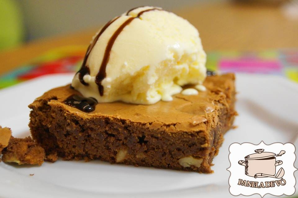 Brownie de chocolate!