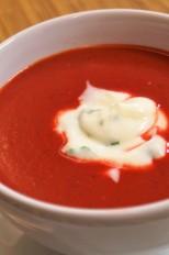 Sopa de Beterraba com Cenoura!