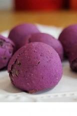 Pãozinho de Batata doce roxa
